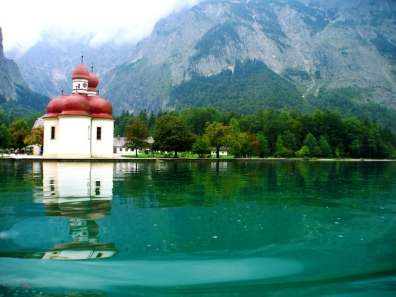 Berchtesgaden National Park, Konigssee - Church of St Bartholomew