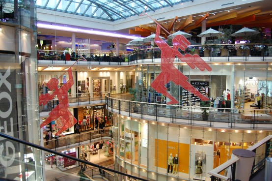 Palladium Shopping Center, Prague