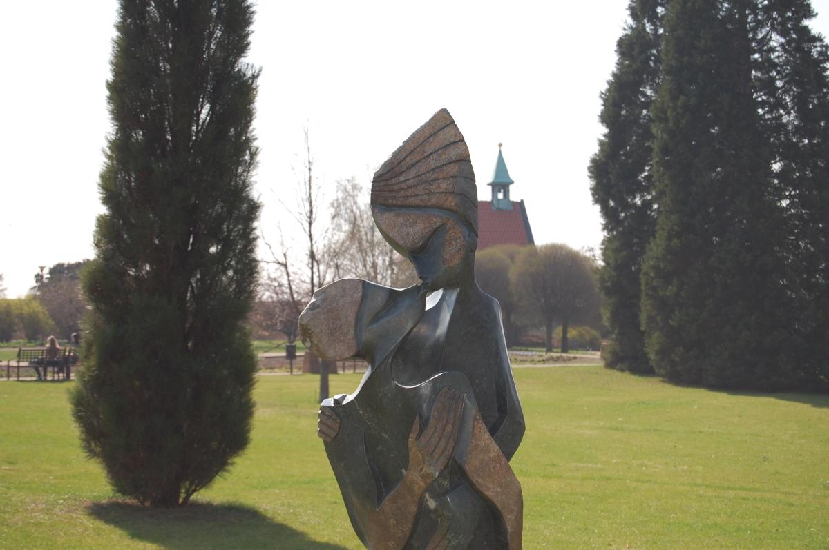 Troja: botanical gardens