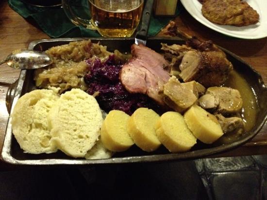 """The """"Bredovsky dvur"""" restaurant, Prague"""
