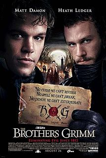 The Brothers Grimm, 2005, filmed in Prague