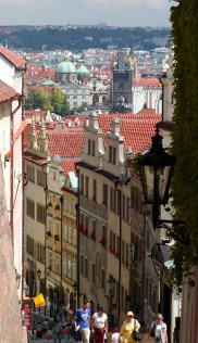 Walk to Castle, Prague