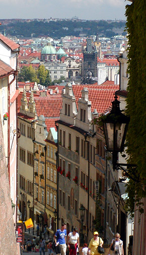 Walk to Castle, Prague