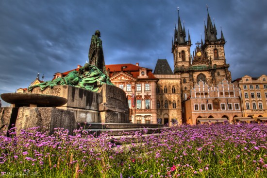 Jan Hus (John Huss), Old Town Square, Prague