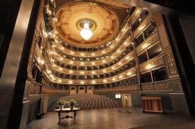 The Estates Theater, interior, Prague