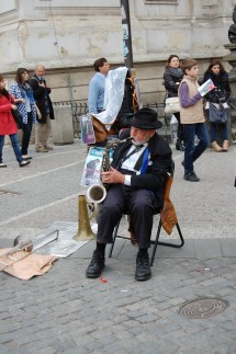 Street Jazz Musician, Old Town Square, Prague