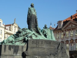 Jan Hus (John Huss) Old Town Square, Prague