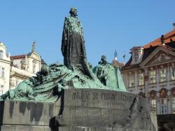 Jan Hus (John Huss) Old Town Square, Prague