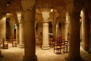 The crypt at St. Benigne
