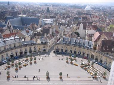 View from Philip le Bon Tower, Dijon