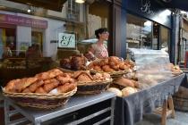 Outdoor Market Vendor, Dijon, rue Bannelier