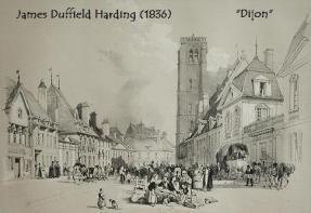 Old postcard, Dijon