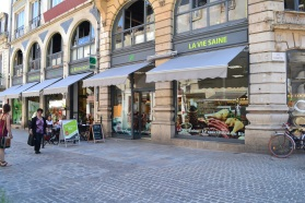 La Vie Saine, health food market,Dijon