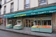 Bertrand Camelin specialty shop, fruits, primeurs, legumes, Dijon, rue Bannelier