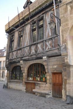 Maison Millière, front, Dijon