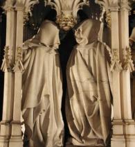 Musée des Beaux-Arts, Dijon: Tomb of Philipe Le Bon by Claus Sluter