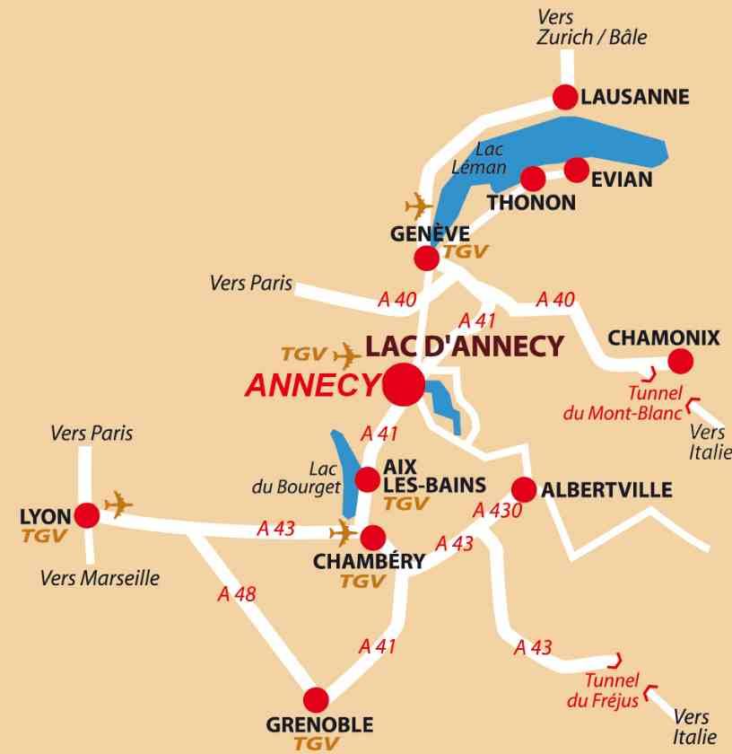 Annecy Le splendide voyage