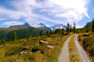 Autumn: Chamonix-Mont Blanc, Haute-Savoie, Rhône-Alpes, France