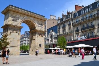 "the portal/door ""La Porte Guillaume,"" place Darcy, Dijon"