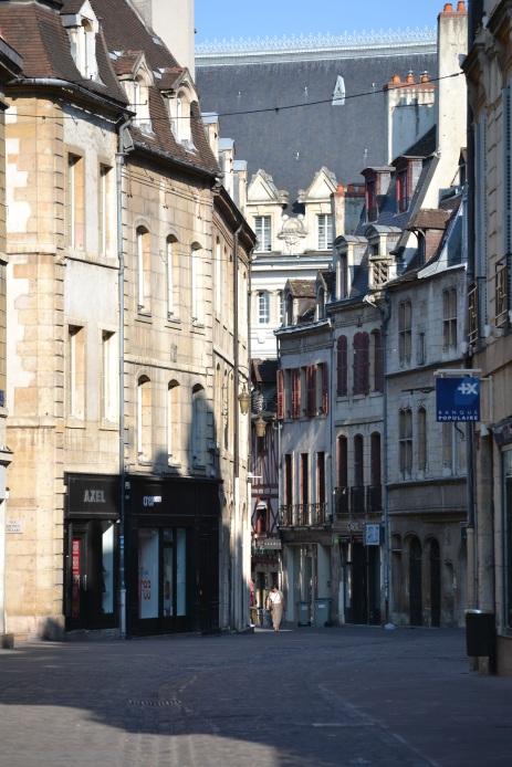 Streets of Dijon, center