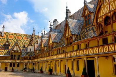 Hospices de Beaune or Hôtel-Dieu, Beaune, Côte d'Or, Burgundy, France