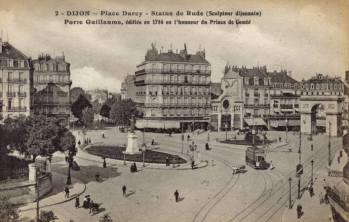 Place Darcy, Dijon, 1900s
