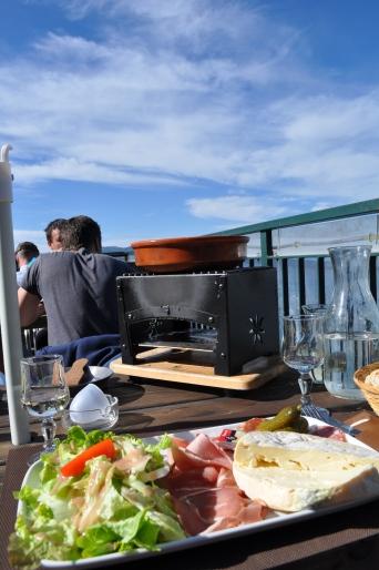 Four à Reblochonnade/Oven to heat Reblochon cheese, potatoes etc., Annecy, France