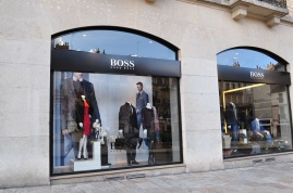 Hugo Boss, place Grangier, Dijon