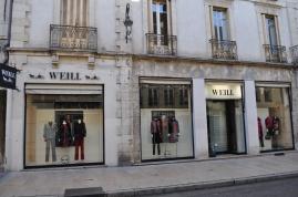 Stores, rue Piron, Dijon