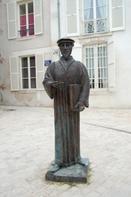 John Calvin at Orléans, Loire Valley, France