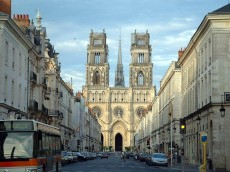 Cathedral, Orléans, Loire Valley, France