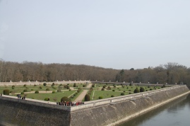 Chenonceau's Gardens, Loire Valley, France