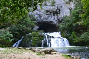 Cavern & Source of the River Lison, Nans-sous-Sainte-Anne, Franche-Comté, France