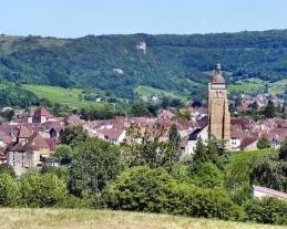 Louis Pasteur's village, Arbois, Franche-Comté, France