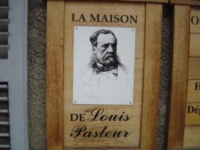 Louis Pasteur home, Arbois, Franche-Comté, France