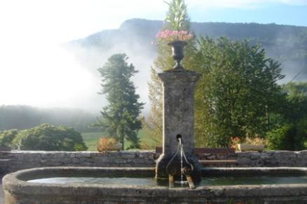 Water Fountain, Nans-sous-Sainte-Anne, Franche-Comté, France