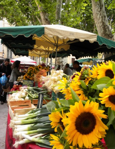 Arles Market Day, Provence, France