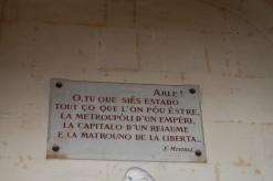 Occitan dialect: Provençal, Frederic Mistral, Arles, Provence, France