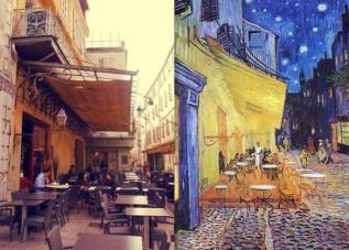 "Vincent van Gogh's, ""Starry Night over the Rhône"", Arles, France"