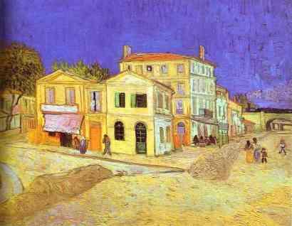"Vincent Van Gogh's ""Yellow House"" 1888, Arles,France"
