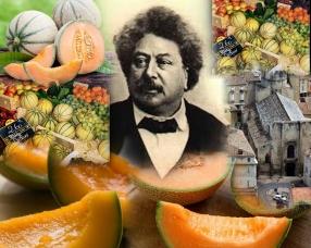 Melon de Cavaillon & Alexandre Dumas, Cavaillon, France