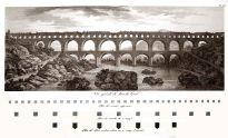 Le Pont du Gard 1804, Provence, France