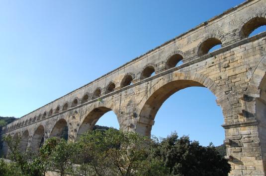 Le Pont du Gard, Provence, France Par Frawsy