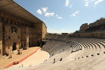 The Théâtre Antique d'Orange, Ancient Theatre of Orange ,Provence, France