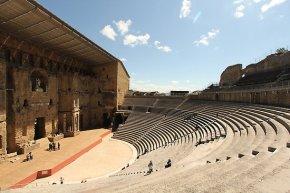 The Théâtre Antique d'Orange, Ancient Theatre of Orange ,Provence, France