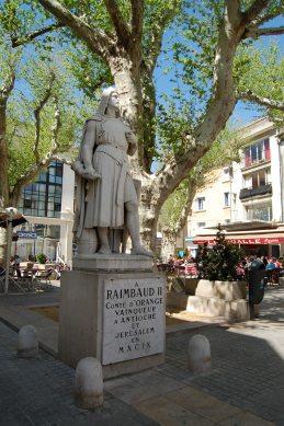 Crusader knight, Orange ,Provence, France