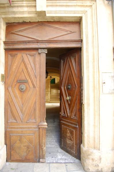 One door opens another, Orange, France