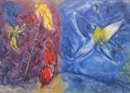 Marc Chagall, Jacob's Dream, Nice, France