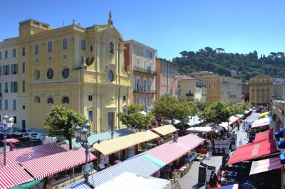 Outdoor market, Nice,France