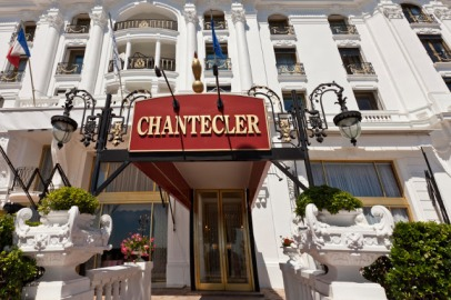 Restaurant Chantecler, Nice, France from www.hotel-negresco-n